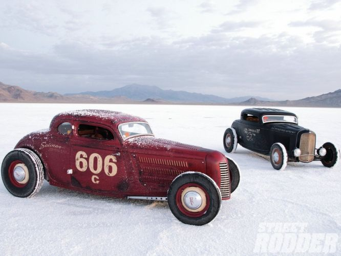1934 Ford Coupe 5 Window Salt Lake Race Grille Hotrod Hot Rod USA 1600x1200-01 wallpaper