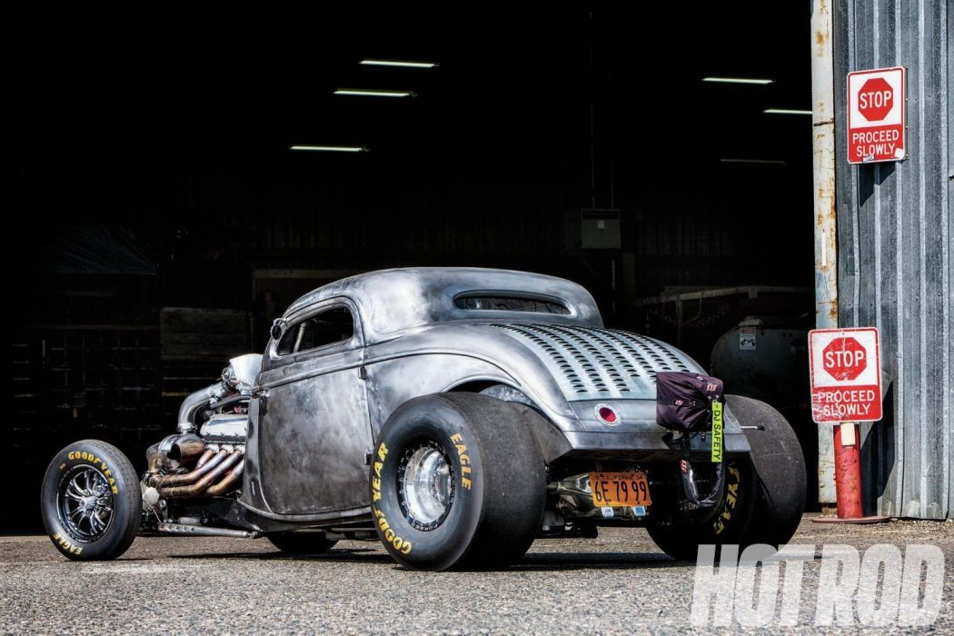 1934 Ford Coupe Drag Dragster Race Racing Hotrod Streetdrag USA 1500x1000-02 wallpaper
