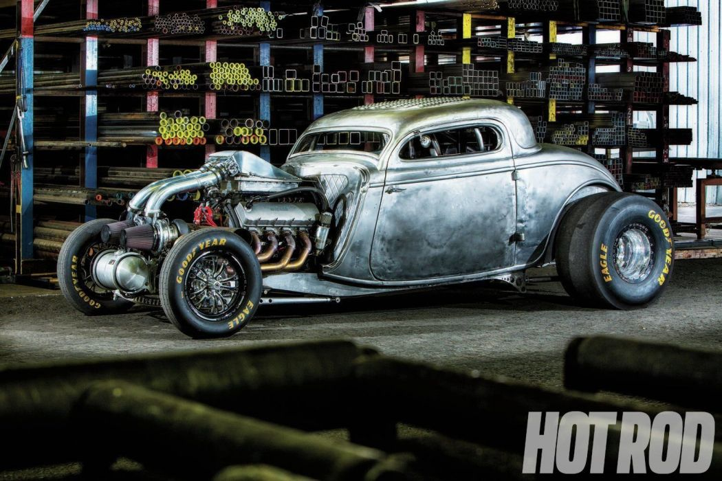 1934 Ford Coupe Drag Dragster Race Racing Hotrod Streetdrag USA 1500x1000-01 wallpaper