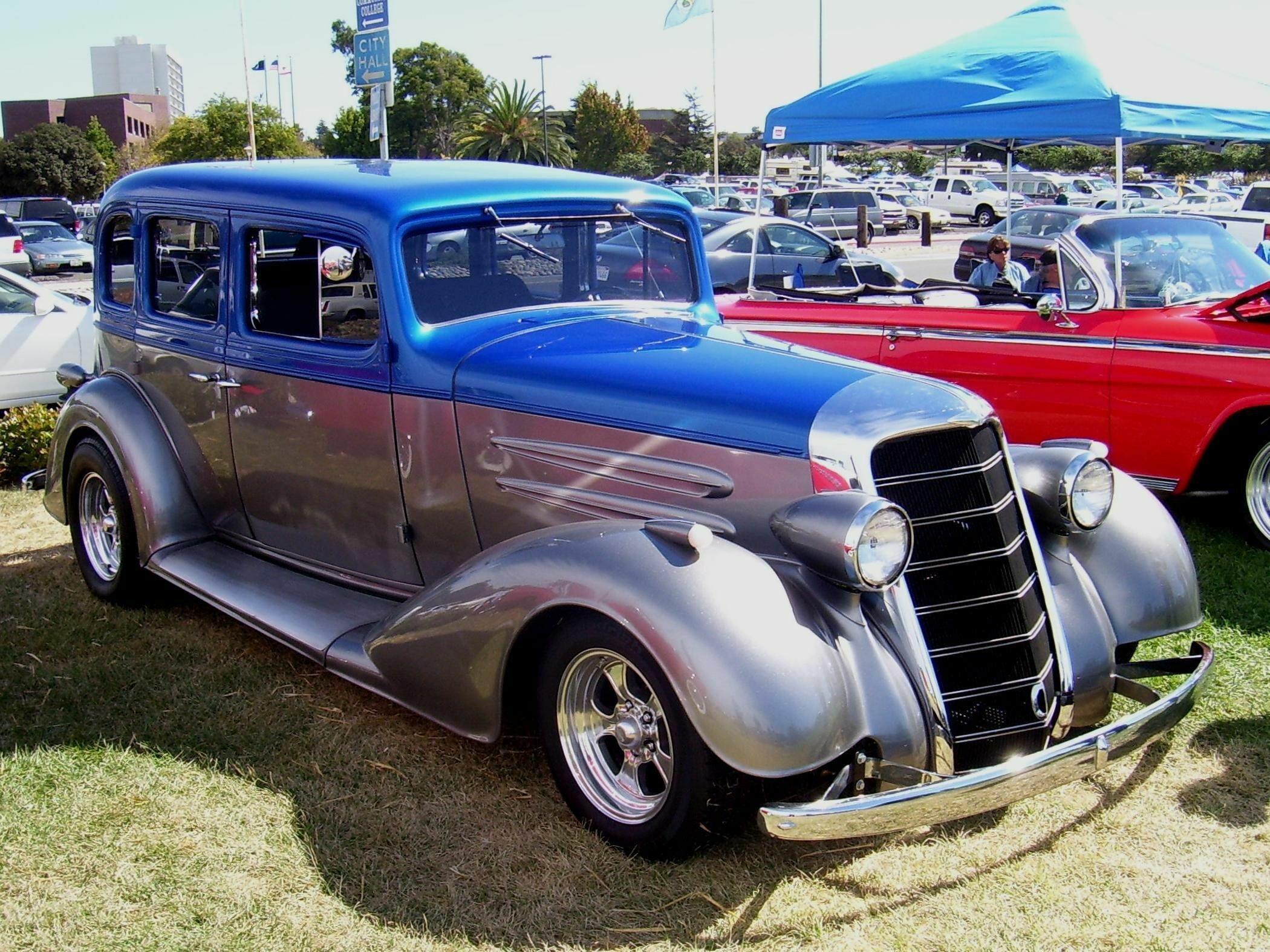 1934 oldsmobile sedan 4 door hotrod streetrod hot rod for 1934 pontiac 4 door sedan