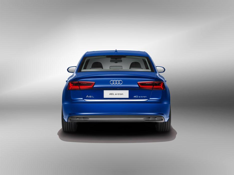 Audi A6L e-tron 4G C7 2015-05 wallpaper