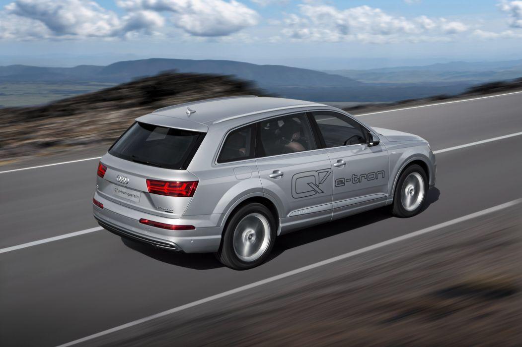 Audi Q7 e-tron TFSI quattro 2015-04 wallpaper
