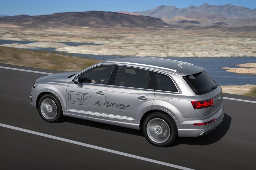 Audi Q7 e-tron TFSI quattro 2015-01 wallpaper