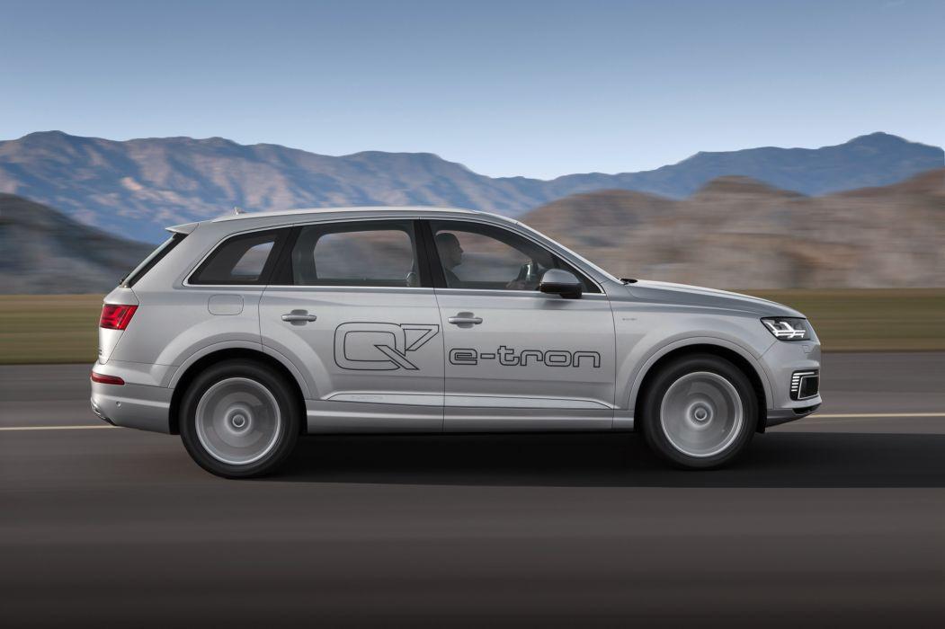 Audi Q7 e-tron TFSI quattro 2015-07 wallpaper