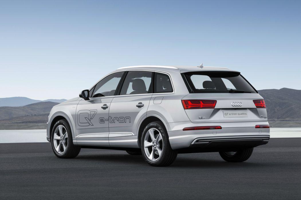 Audi Q7 e-tron TFSI quattro 2015-05 wallpaper