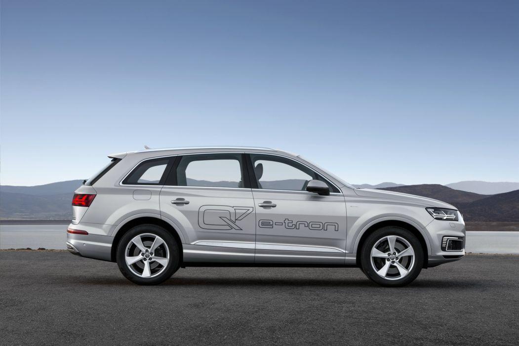 Audi Q7 e-tron TFSI quattro 2015-08 wallpaper