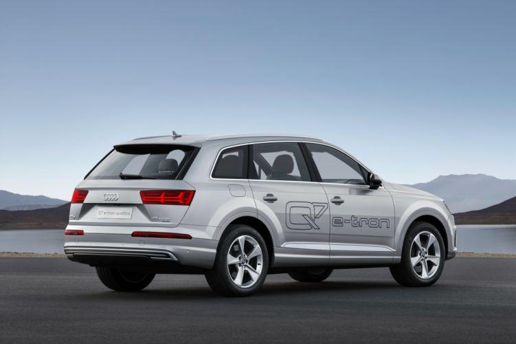 Audi Q7 e-tron TFSI quattro 2015-13 wallpaper