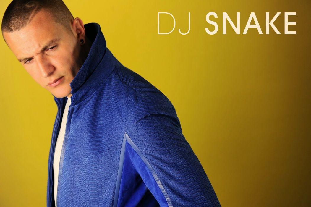 DJ SNAKE disc jockey trap dance hip hop electro electronic 1djsnake poster wallpaper