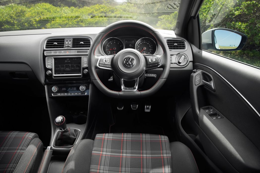 Volkswagen Polo GTI AU-spec 2015-17 wallpaper