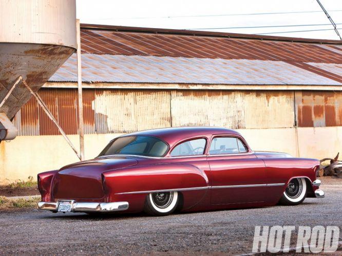 1954 Chevrolet BelAir Hotrod Hot Rod Custom Kustom Chopped Low USA 1600x1200-06 wallpaper