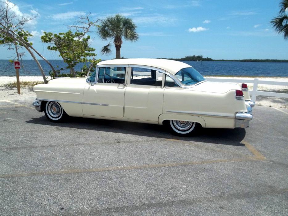 1956 Cadillac Series 62 Sedan Four Door Classic Old Vintage Retro Original USA 3072x2303-01 wallpaper