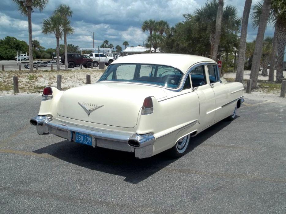 1956 Cadillac Series 62 Sedan Four Door Classic Old Vintage Retro Original USA 3072x2303-06 wallpaper