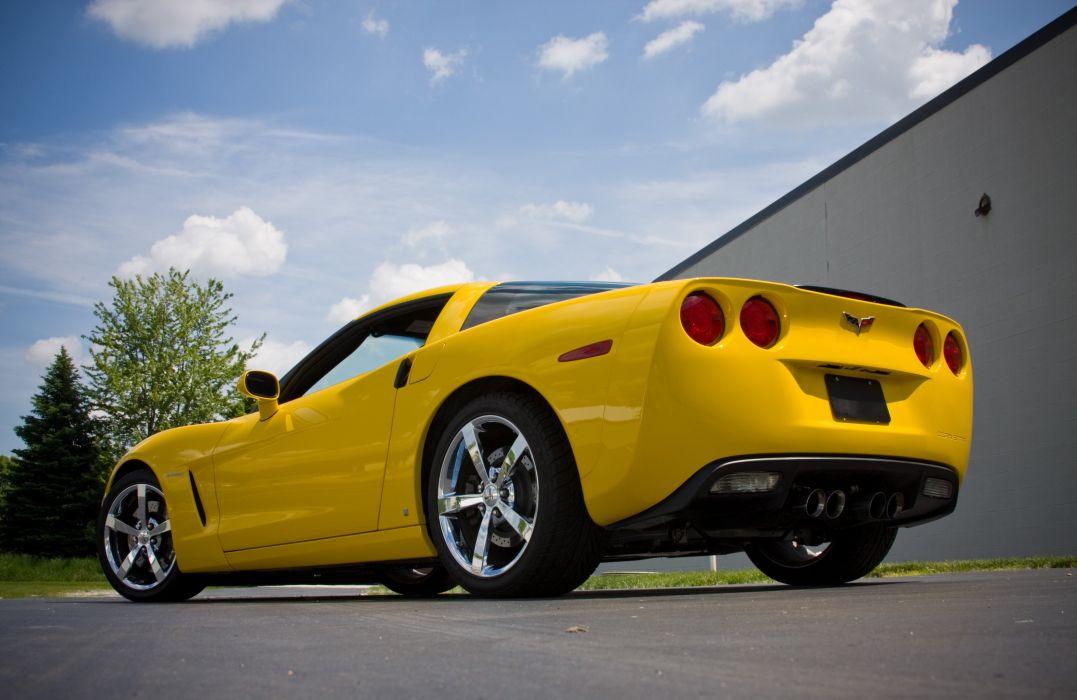 2008 Chevrolet Corvette C6 Yellow Lingenfelter 670 HP Supercharged LS3 Muscle Super Car USA 4000x2600-02 wallpaper