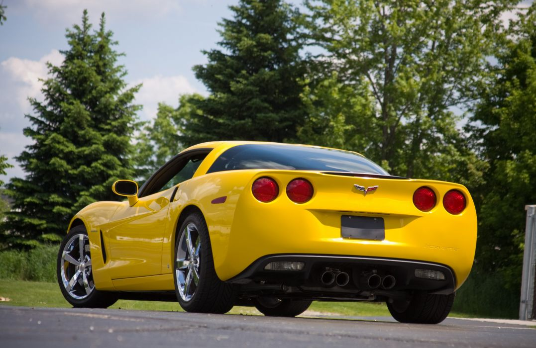 2008 Chevrolet Corvette C6 Yellow Lingenfelter 670 HP Supercharged LS3 Muscle Super Car USA 4000x2600-03 wallpaper