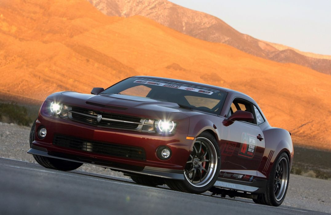 2010 Chevrolet Camaro L28 Red Lingenfelter Optima Challenge Muscle Super Car USA 4000x2600-03 wallpaper