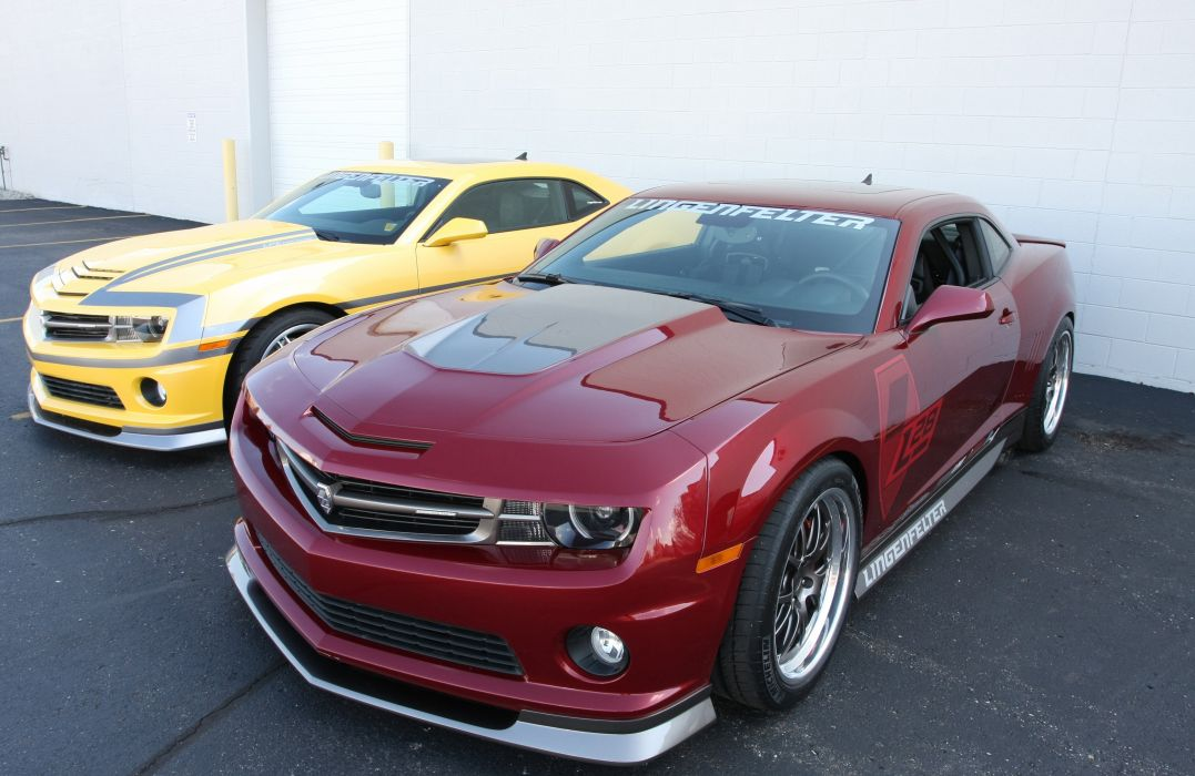 2010 Chevrolet Camaro L28 Red Lingenfelter Optima Challenge Muscle Super Car USA 4000x2600-01 wallpaper