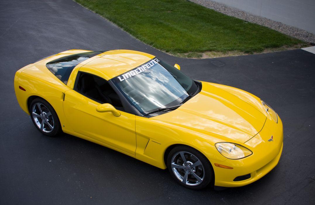 2008 Chevrolet Corvette C6 Yellow Lingenfelter 670 HP Supercharged LS3 Muscle Super Car USA 4000x2600-05 wallpaper
