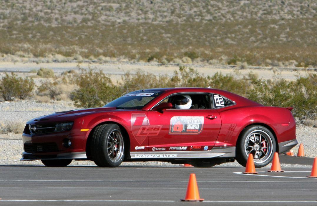 2010 Chevrolet Camaro L28 Red Lingenfelter Optima Challenge Muscle Super Car USA 4000x2600-05 wallpaper