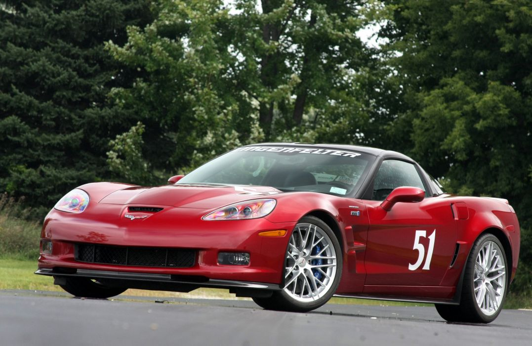 2010 Chevrolet Corvette C6 Red Lingenfelter ZR1 Muscle Super Car USA 4000x2600-03 wallpaper