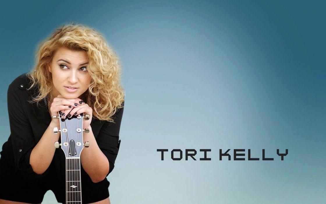 TORI KELLY pop singer soul r-b poster guitar wallpaper