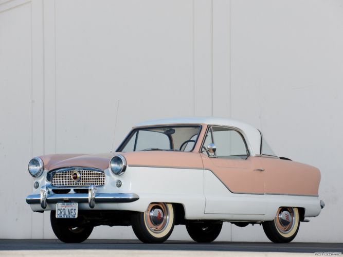 1953 Nash Metropolitan Sedan Classic OLd Vintage Original USA 2048x1536-01 wallpaper