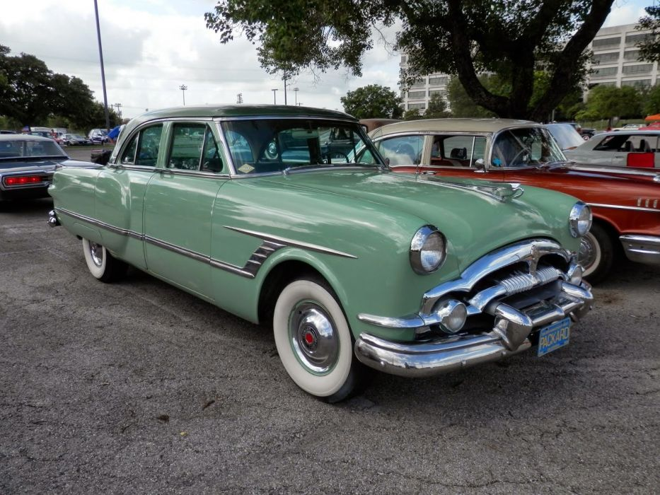 1953 Packard Cavalier Sedan 4 Door Classic Old Vintage Original Green USA 1600x1300-01 wallpaper