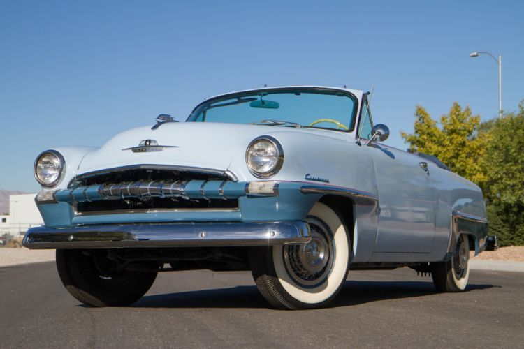1953 Plymouth Cranbrook Convertible Classic Old Retro Vintage USA 5184x3456-01 wallpaper