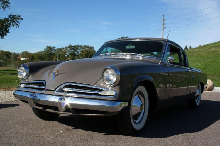 1953 Studebaker Commander Coupe 2 Door Classic Old Original USA 1728x1152-02 wallpaper