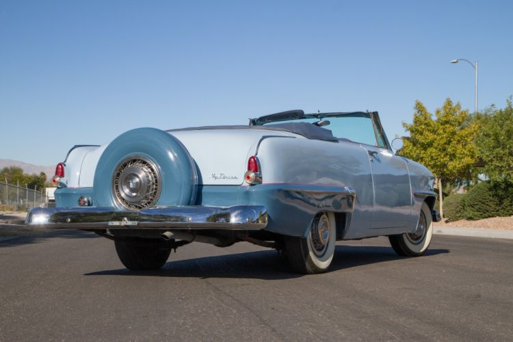 1953 Plymouth Cranbrook Convertible Classic Old Retro Vintage USA 5184x3456-03 wallpaper