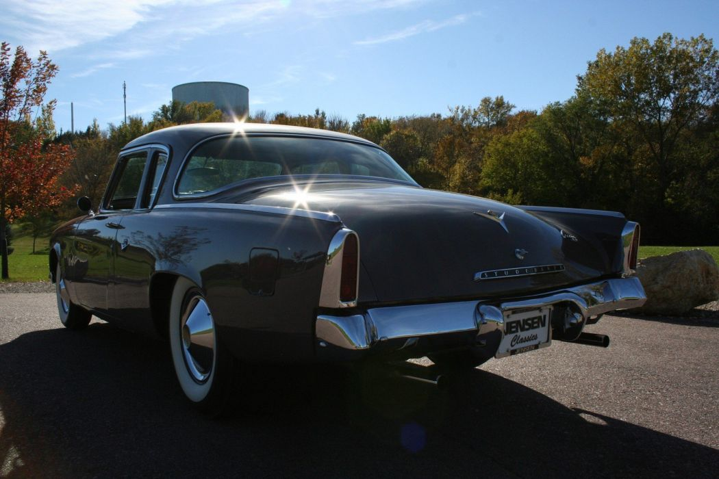 1953 Studebaker Commander Coupe 2 Door Classic Old Original USA 1728x1152-04 wallpaper