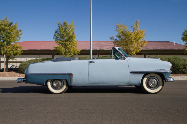 1953 Plymouth Cranbrook Convertible Classic Old Retro Vintage USA 5184x3456-02 wallpaper