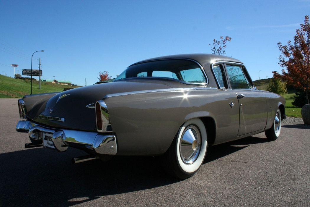 1953 Studebaker Commander Coupe 2 Door Classic Old Original USA 1728x1152-06 wallpaper