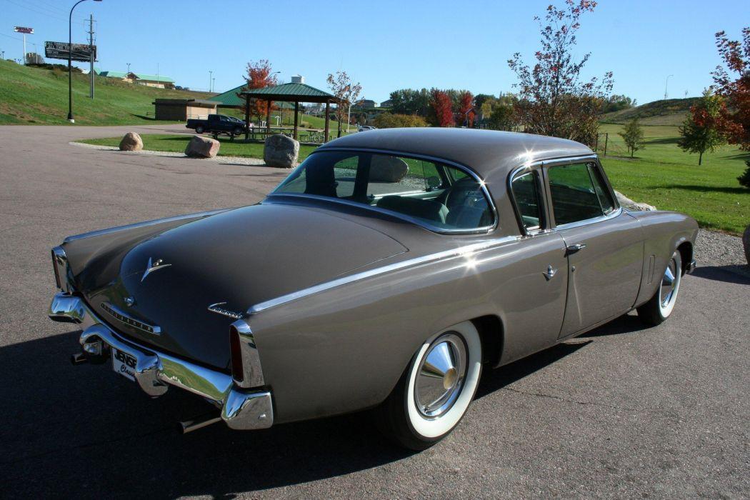 1953 Studebaker Commander Coupe 2 Door Classic Old Original USA 1728x1152-07 wallpaper