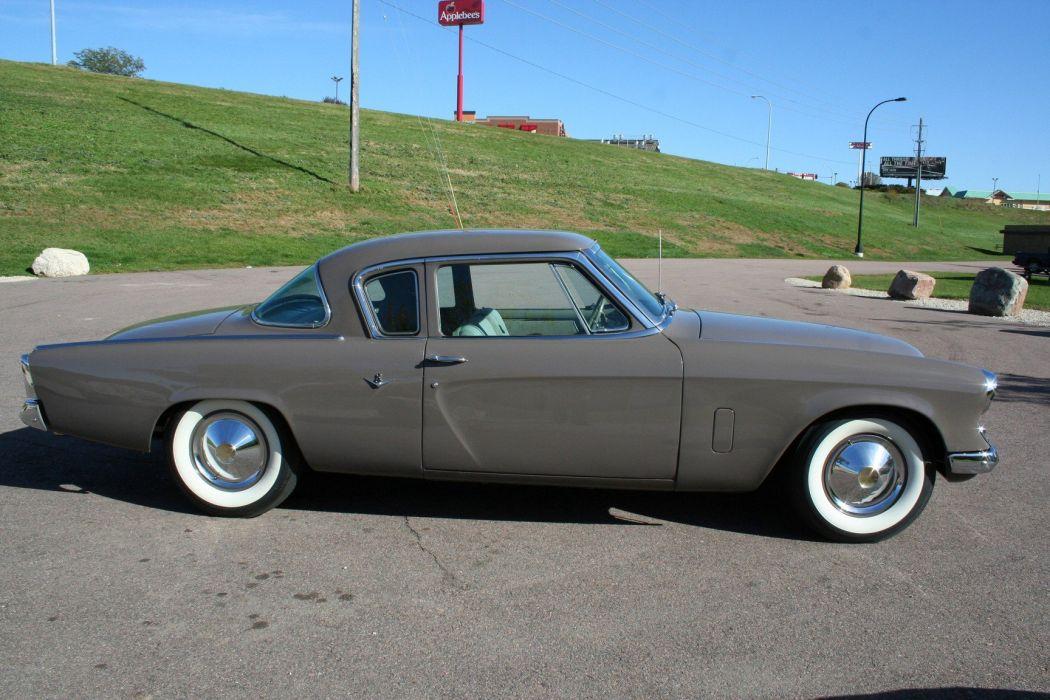 1953 Studebaker Commander Coupe 2 Door Classic Old Original USA 1728x1152-08 wallpaper