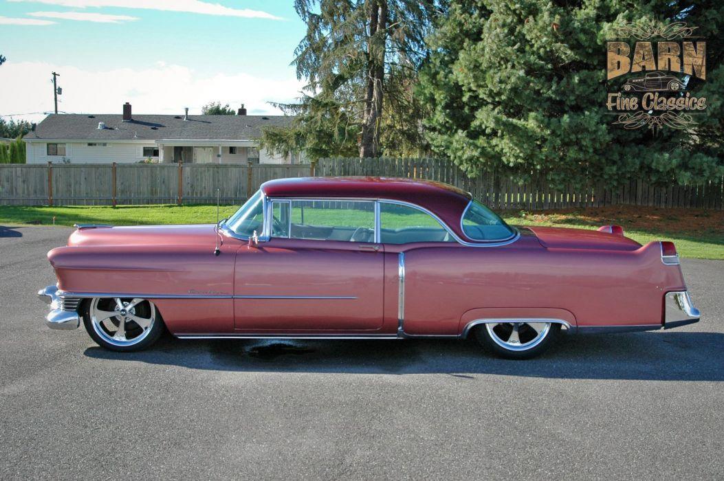 1954 Cadillac Series 62 Coupe Hardtop Hotrod Streetrod Hot Rod Street Custom Low USA 1500x1000-01 wallpaper