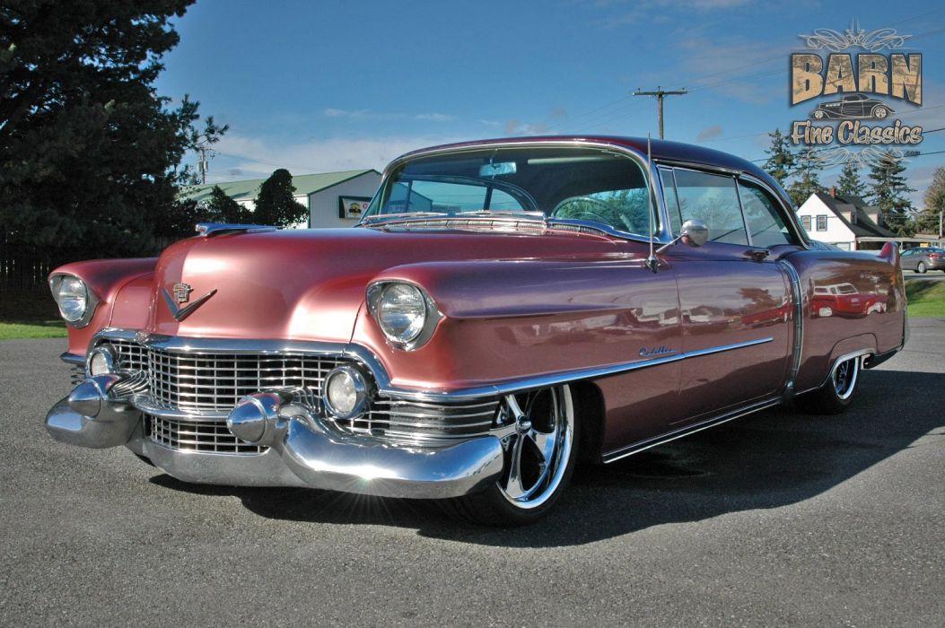 1954 Cadillac Series 62 Coupe Hardtop Hotrod Streetrod Hot Rod Street Custom Low Usa 1500x1000