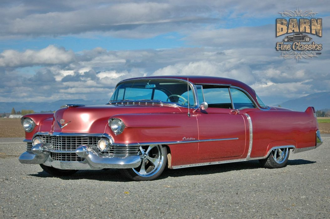 1954 Cadillac Series 62 Coupe Hardtop Hotrod Streetrod Hot Rod Street Custom Low USA 1500x1000-08 wallpaper