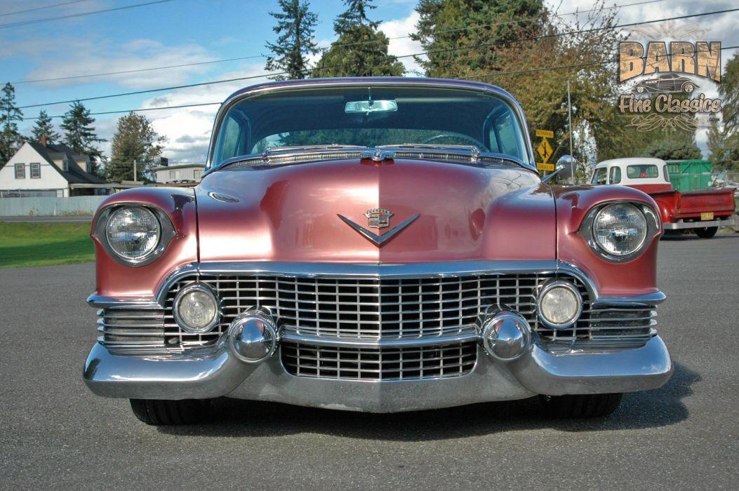 1954 Cadillac Series 62 Coupe Hardtop Hotrod Streetrod Hot Rod Street Custom Low USA 1500x1000-07 wallpaper