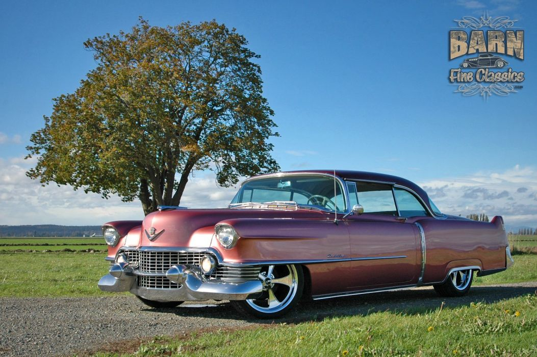 1954 Cadillac Series 62 Coupe Hardtop Hotrod Streetrod Hot Rod Street Custom Low USA 1500x1000-09 wallpaper