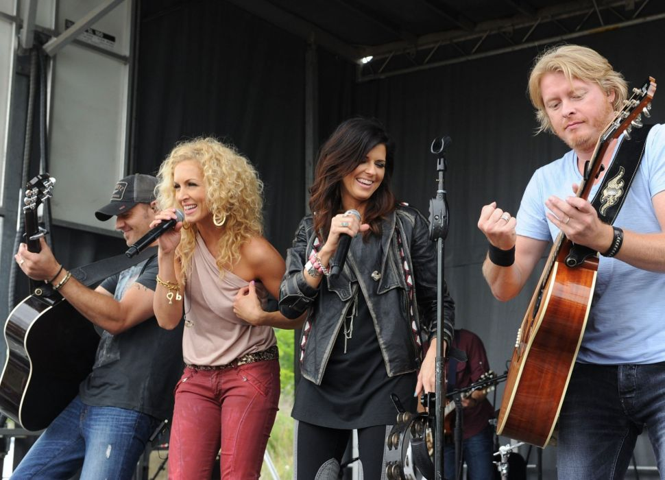 LITTLE BIG TOWN country countrywestern 1libt western concert guitar wallpaper