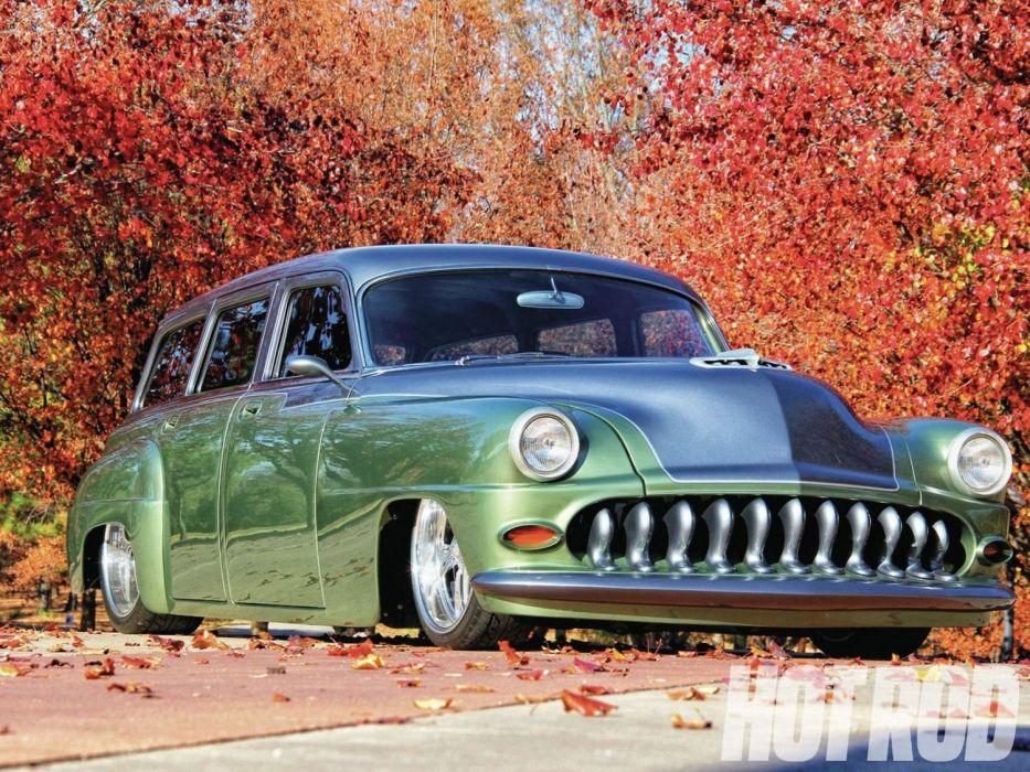1953 Desoto Station Wagon Hotrod Streetrod Hot Rod Street Low USA 1500x1126-01 wallpaper