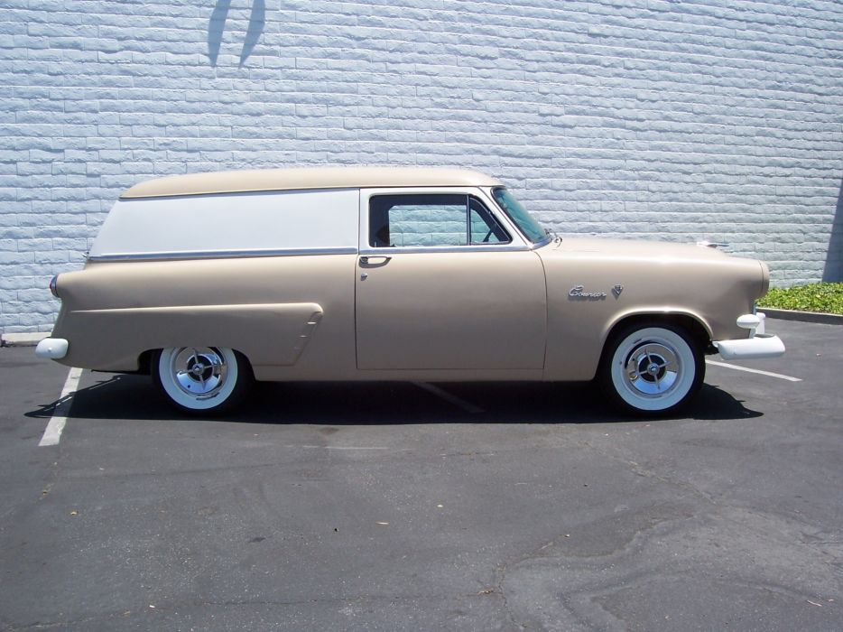 1953 Ford Courier Sedan Delivery Classic Old Vintage USA 2560x1920-02 wallpaper