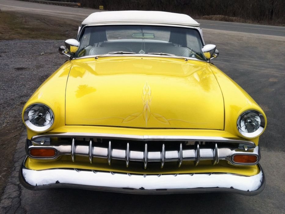 1953 Ford Custom Convertible Kustom Hotrod Hot Rod Low USA 1500x1125-04 wallpaper