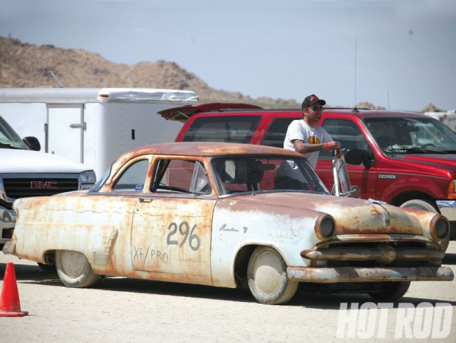 1953 Ford Custom Rat Rod Lake Salt Race Vintage USA 1600x1200-01 wallpaper