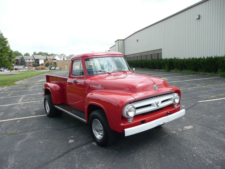 1953 Ford F100 4x4 Dually USA 1600x1200-03 wallpaper