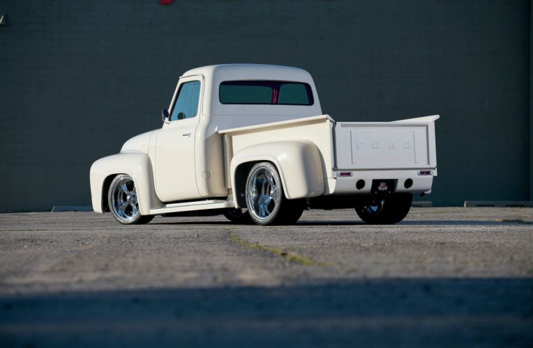 1953 Ford F100 Pickup Hotrod Streetrod Hot Rod Street USA 2048x1340-17 wallpaper