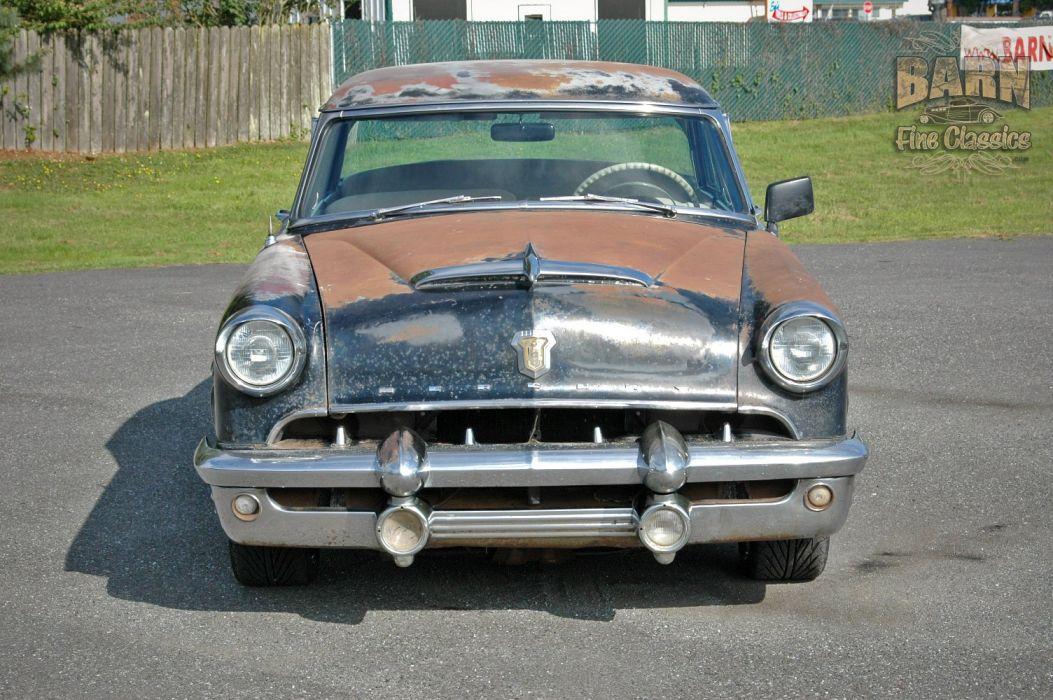 1953 Mercury Monterey Rust Resto Mod Hotrod Hot Rod Rat USA 1500x1000-02 wallpaper