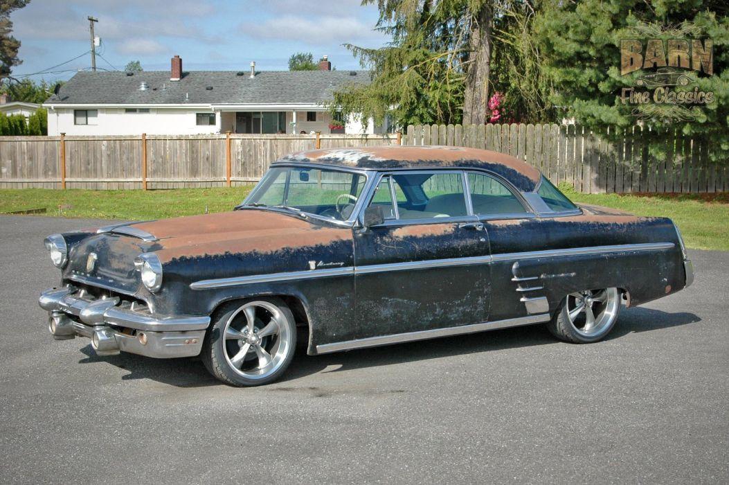 1953 Mercury Monterey Rust Resto Mod Hotrod Hot Rod Rat USA 1500x1000-03 wallpaper