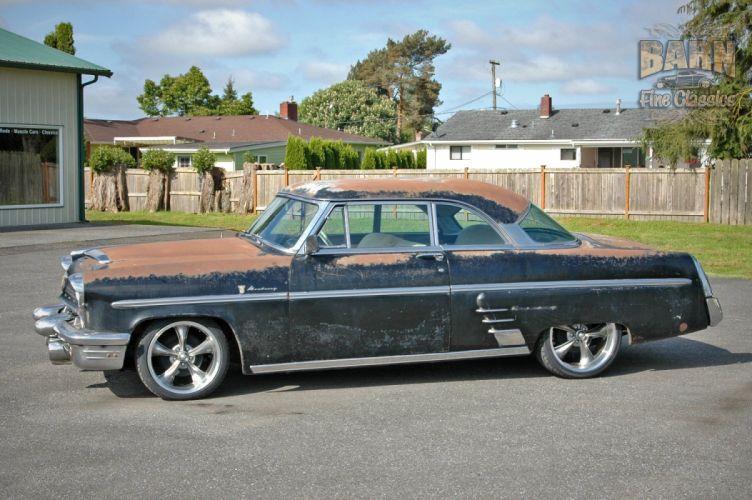 1953 Mercury Monterey Rust Resto Mod Hotrod Hot Rod Rat USA 1500x1000-07 wallpaper