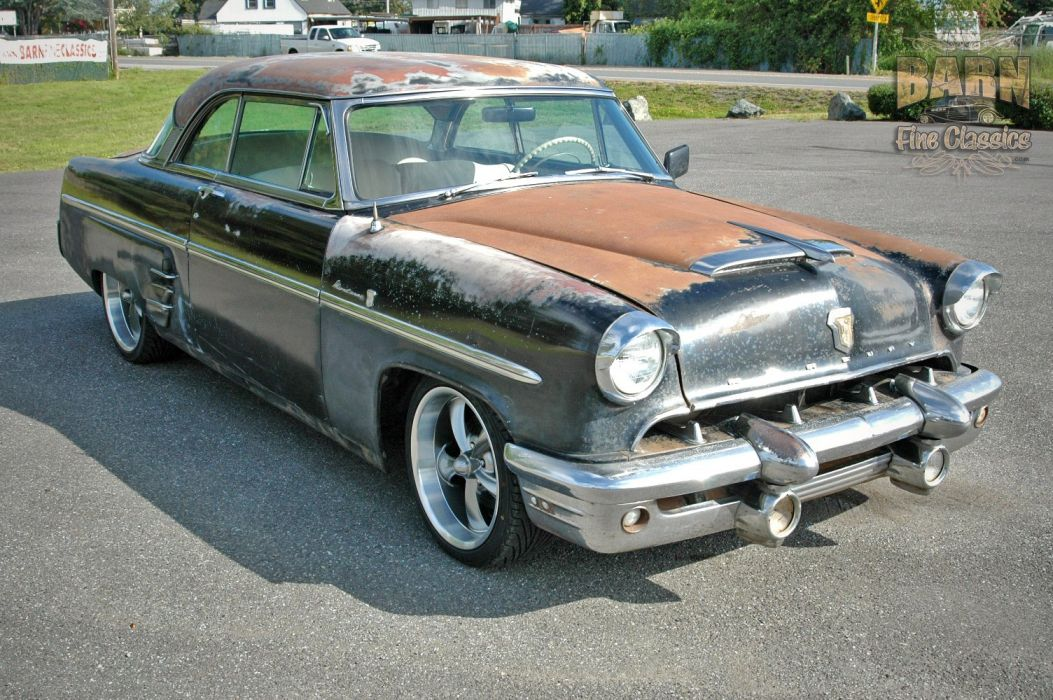 1953 Mercury Monterey Rust Resto Mod Hotrod Hot Rod Rat USA 1500x1000-08 wallpaper
